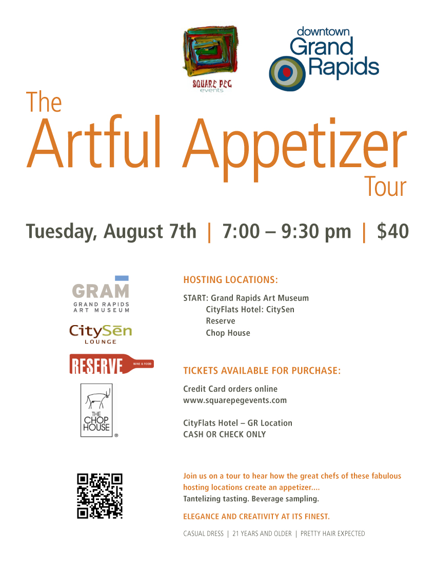 Artful Appetizer Poster