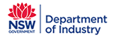 Dept of Industry NSW logo