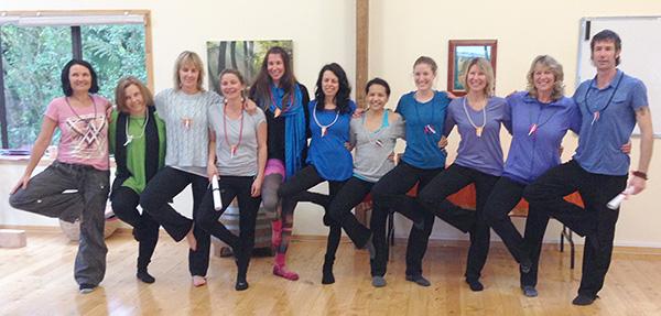 Yoga Teacher Training students August 2014