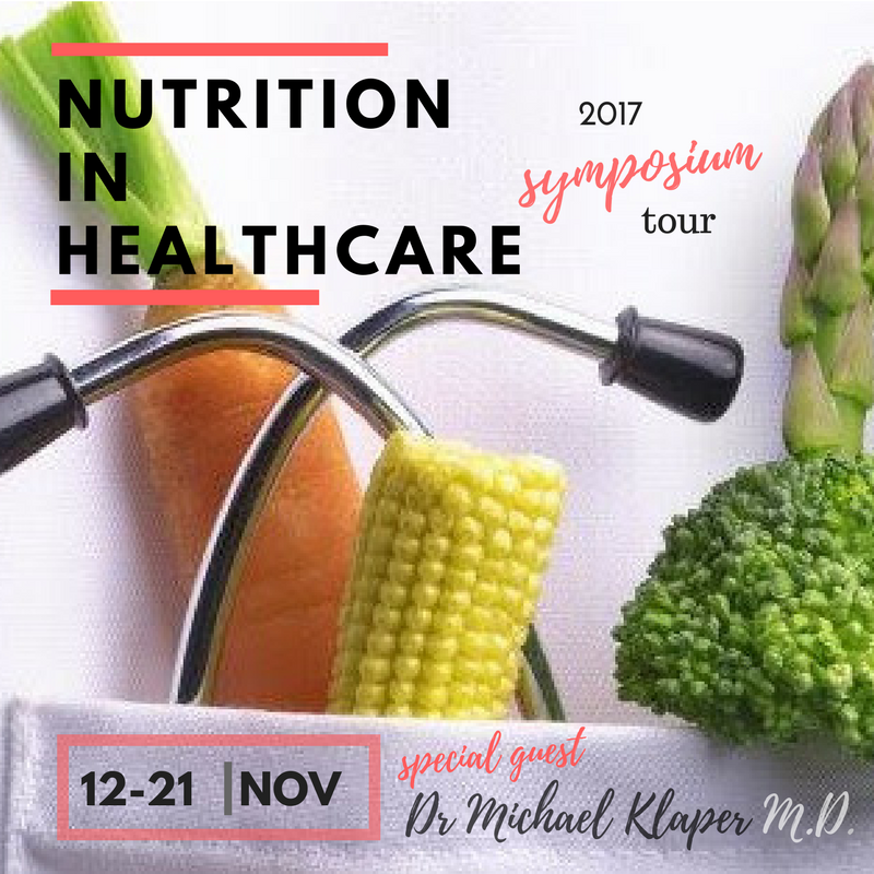 SYDNEY Nutrition In Healthcare Symposium With Dr Klaper