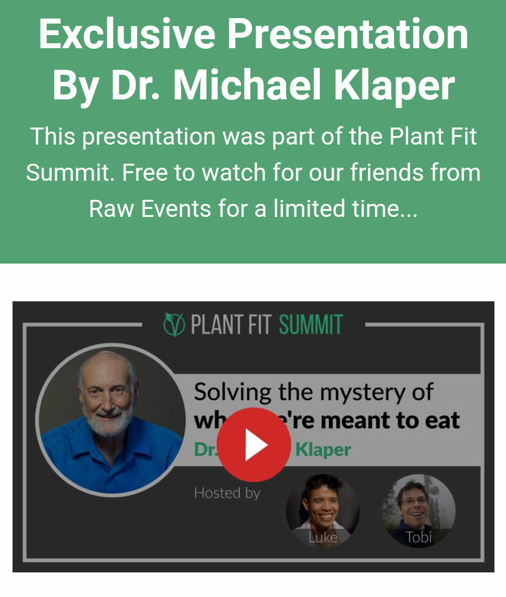 Plant Fit Summit Dr Klaper