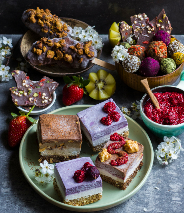 Rainbow Nourishments desserts