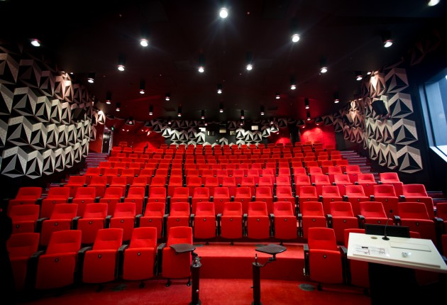 RMIT cinema inside