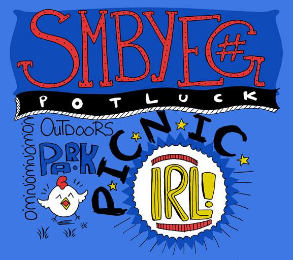 SMPYEG IRL Potluck Picnic  LOGO