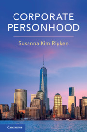 Corporate Personhood book cover