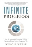 Infinite Progress book cover by Byron Reese