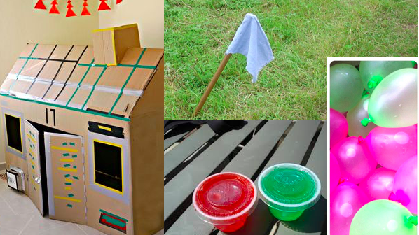 Waterballoons and games