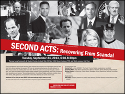 Second Acts: Recovering from Scandal