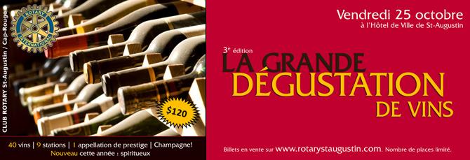 La Grande Dgustation de vins Rotary