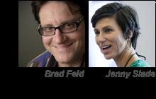 Presenters Brad Feld and Jenny Slade