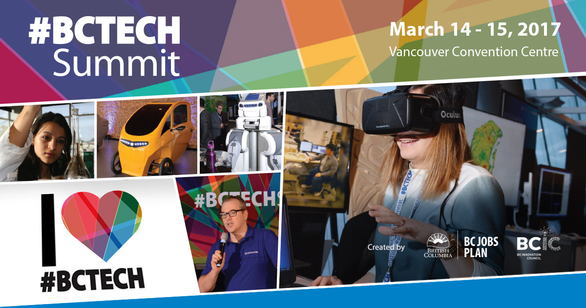 Banner for BC Tech Summit