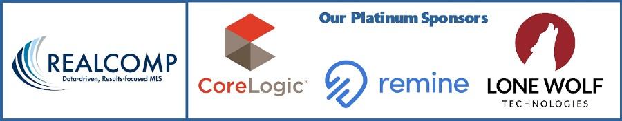 Our Platinum Sponsors: CoreLogic, Remine, Lone Wolf