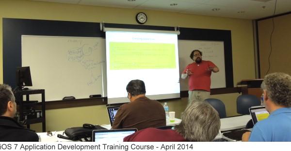 ios 7 training class