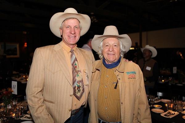 Buck Brrannaman & Ramblin Jack Elliot 2012 Fundraiser