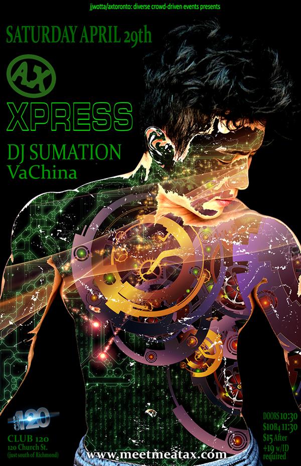 AX Xpress Spring poster