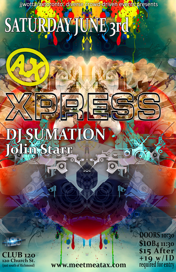 AX Xpress June poster