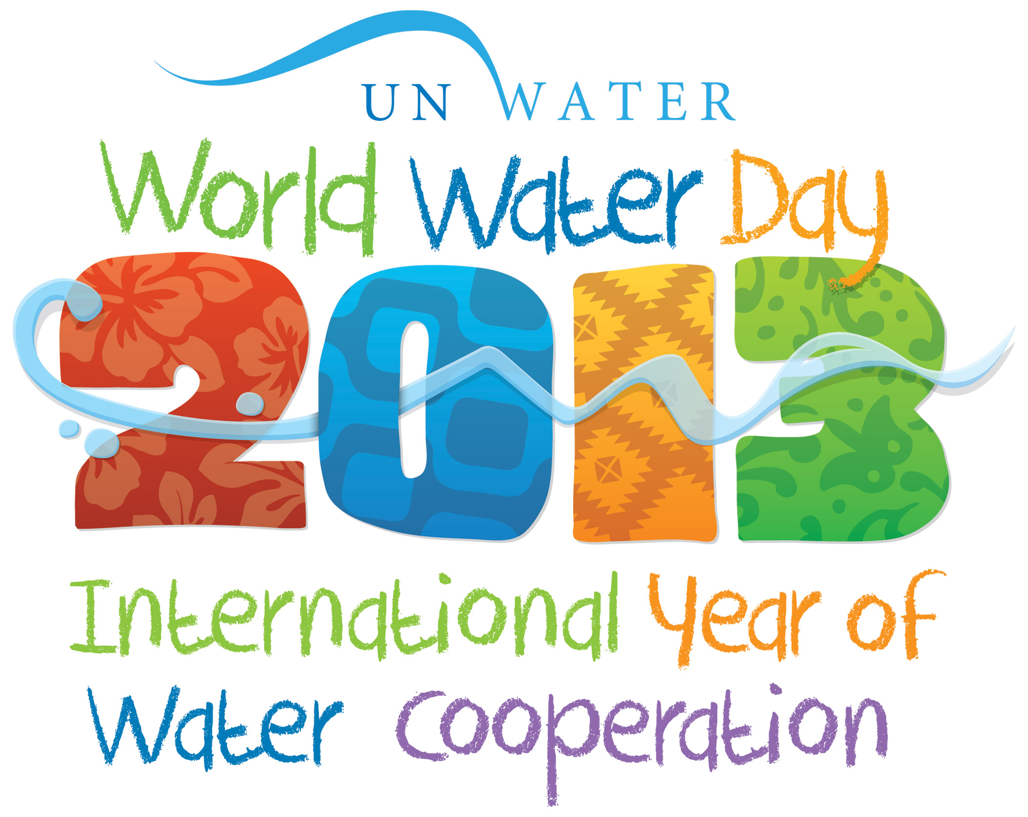 2013 UN World Water Day Logo