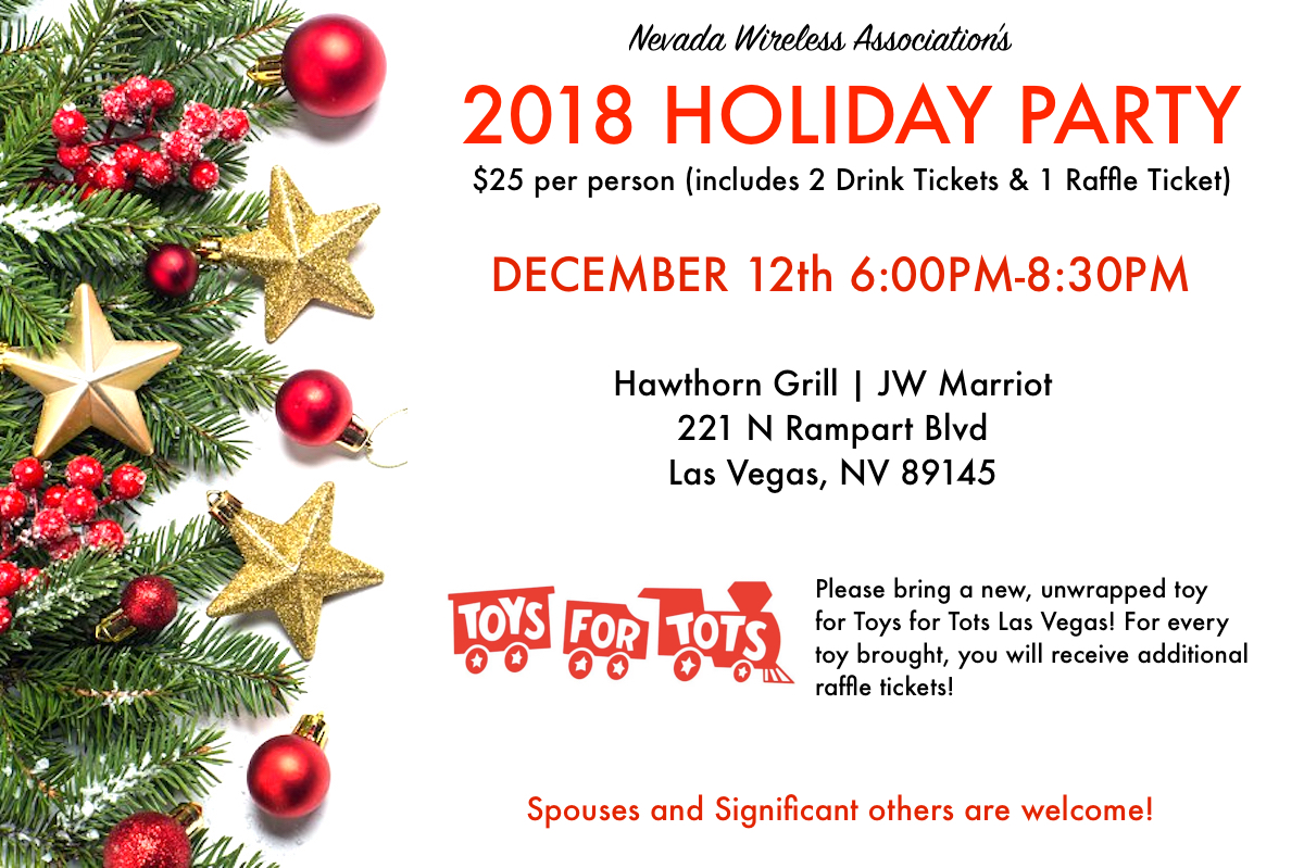 NevWA Holiday Party 2018 Tickets, Wed, Dec 12, 2018 at 6:00 PM ...