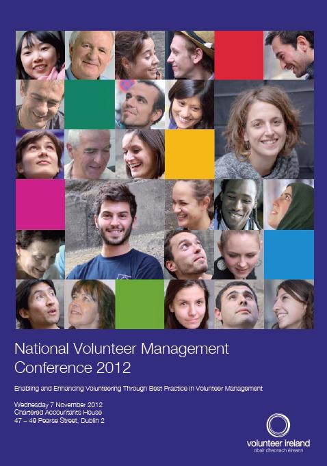 National Volunteer Management Conference 2012