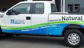 YCNGA CNG Truck