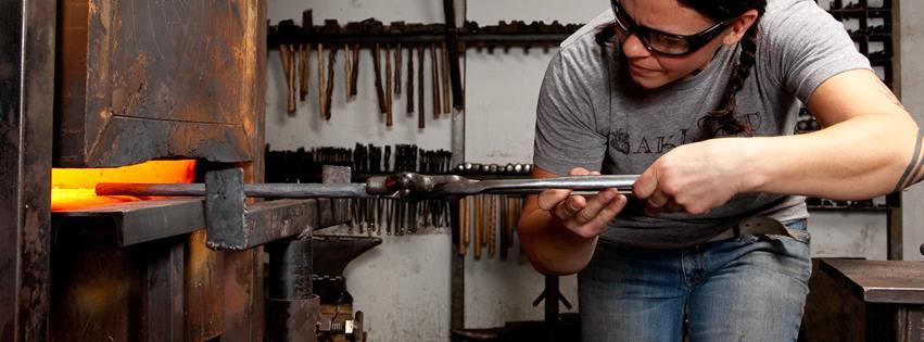 Blacksmithing at The Crucible