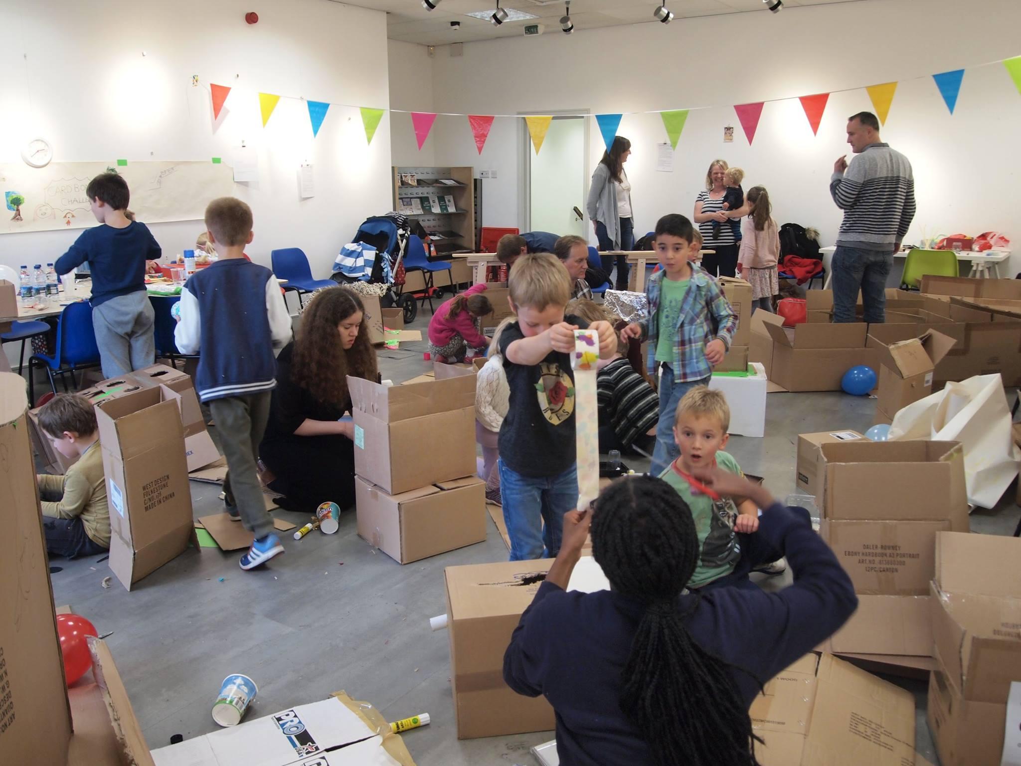 SketchBetter Kids - Cardboard Challenge