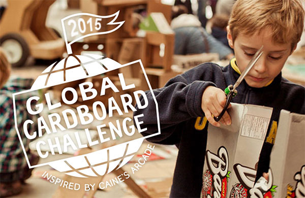 The Global Cardboard Challenge 2015