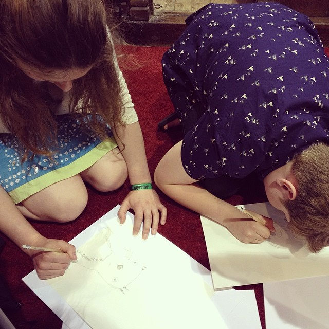 SketchBetter at Mentmore Arts Festival