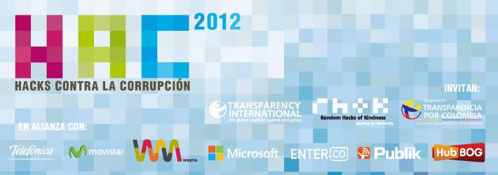 Hackathon Hacks Contra la Corrupción Bogotá 6 y 7 de octubre