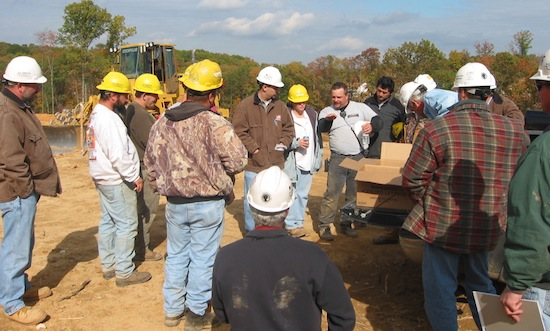 Construction After Action Review in the Field