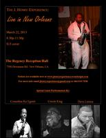 The J. Henry Experience Live In New Orleans
