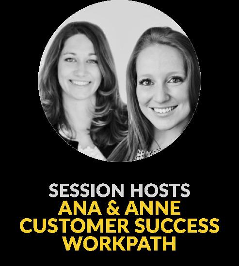 Ana und Anne Customer Success - Program session