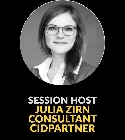Julia Zirn Consultant Cidpartner