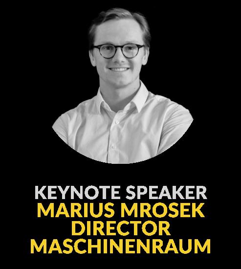 Marius Mrosek - Director at Maschinenraum GmbH