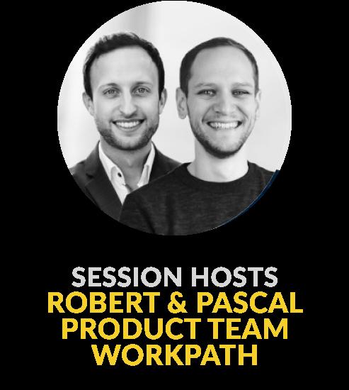 Pascal Fritzen und Robert Kleinscheck Product Team Workpath