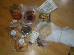 Items from the 1st VT Food Swap