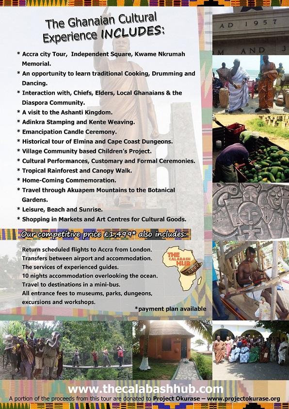 ghana itinerary