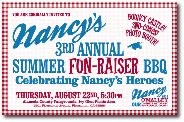 Nancy's 3rd Annual Summer Fun-Raiser BBQ