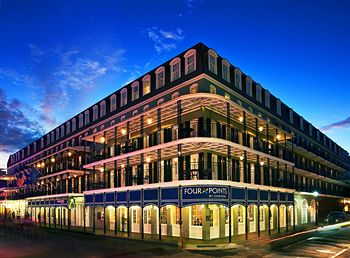 Sheraton Hotel on Bourbon Street