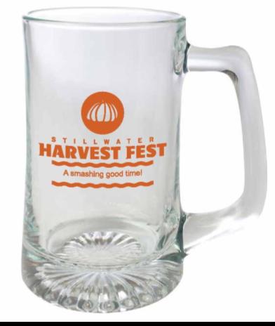 Harvest Fest Beer Mug