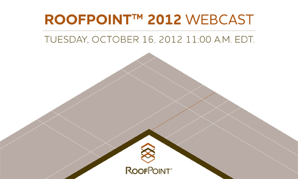 RoofPoint 2012 Webcast Header 2