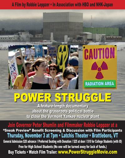 POWER STRUGGLE Movie Poster