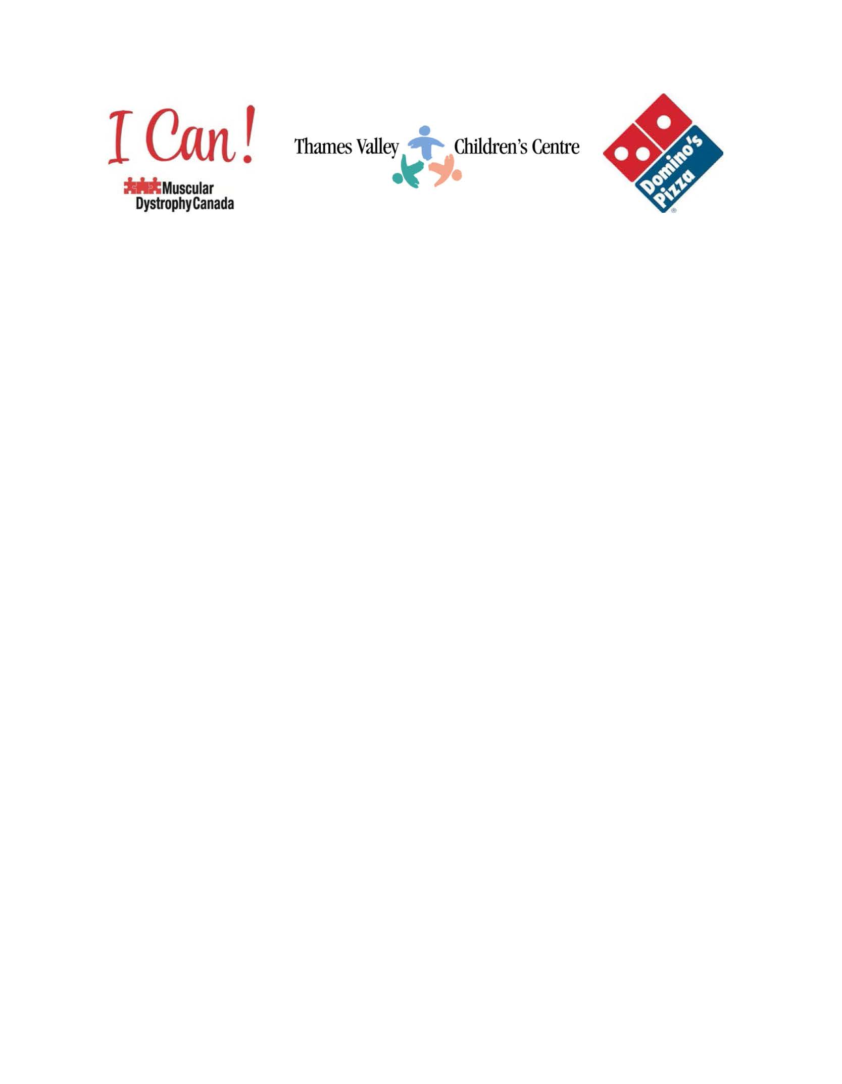 TVCC MDC and Dominos logos