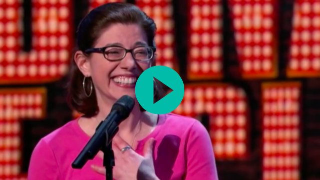 Dana Eagle on Last Comic Standing