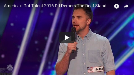DJ Demers on America's Got Talent