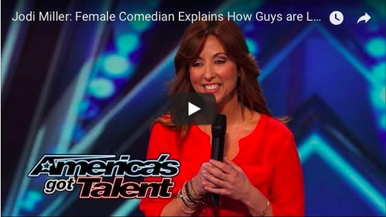 Jodi Miller on Americas Got Talent