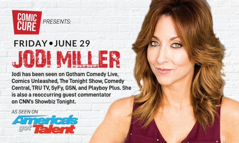 Comedian Jodi Miller in Delray Beach