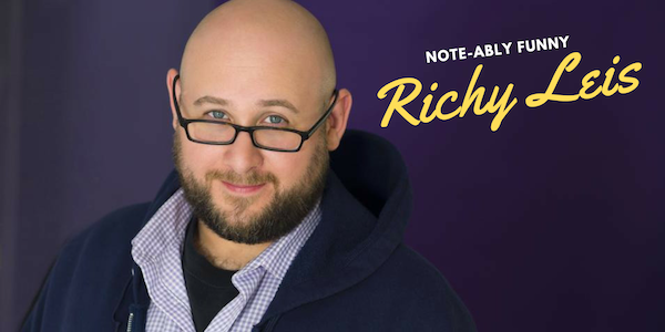 Comedian Richy Leis