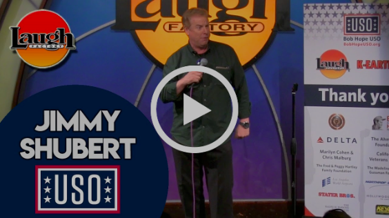Jimmy Shubert from Last Comic Standing