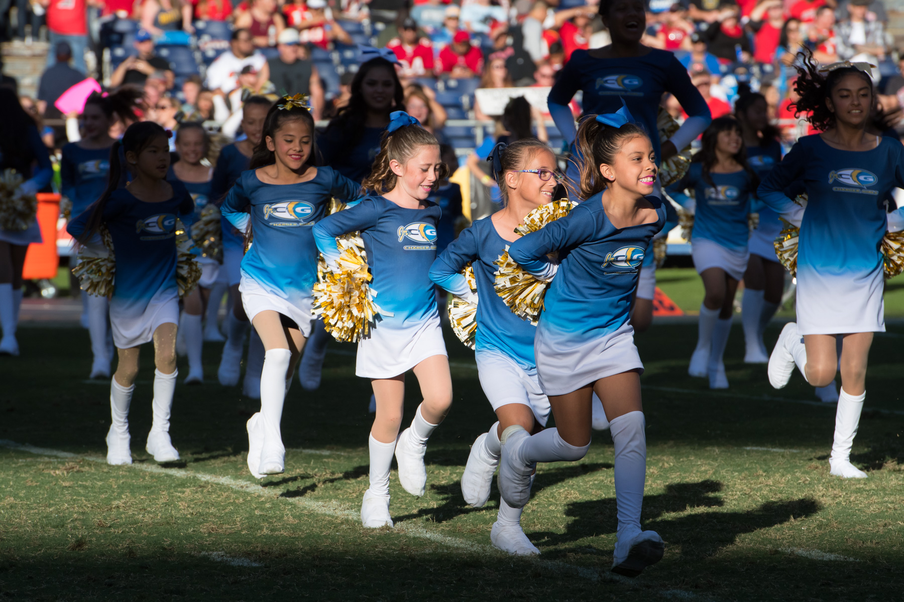 Los Angeles Jr. Charger Girls